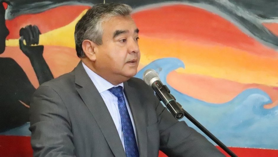 Richard Irribarra, alcalde de Quirihue.